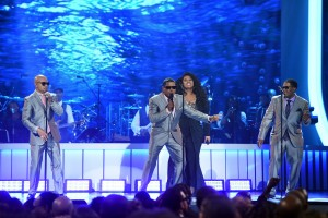 After 7 with Jazmine Sullivan at the 2015 Soul Train Awards