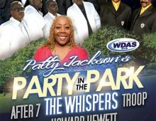 After 7 with The Whispers, Howard Hewitt and Troop